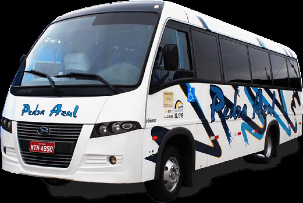 servicos de locacao de micro-ônibus pedra azul
